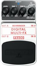 Behringer Digital Multi-FX FX600 Pedal Stomp
